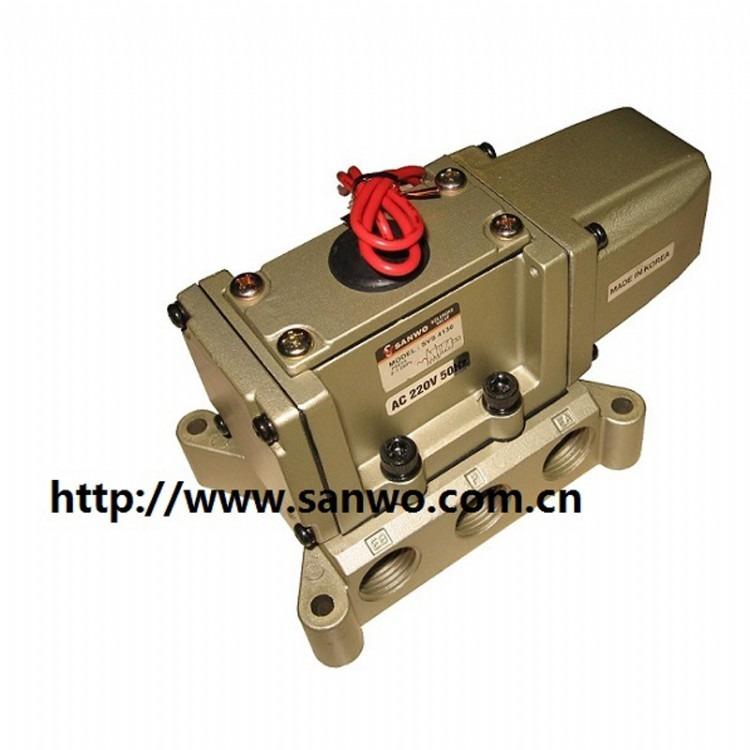 SVS4130 SVS4230电磁阀2位5通直动式金属密封换向阀