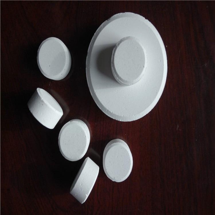 三氯异氰尿酸是一种白色粉末颗粒或片剂的杀菌消毒剂