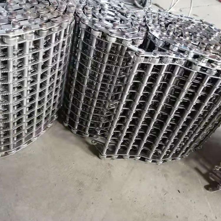 厂家定制金属输送网带食品输送网带网带烘干线蔬菜清洗流水线