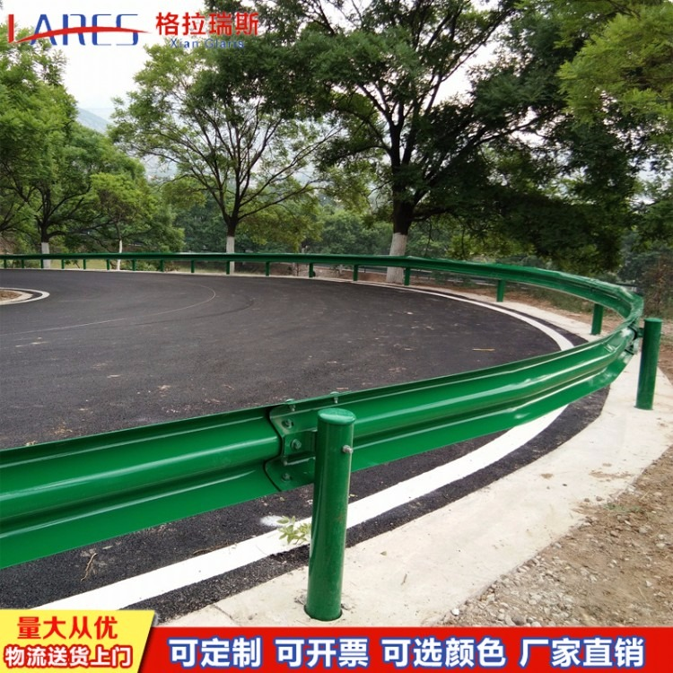 格拉瑞斯波形梁护栏板厂 供应陕西高速路护栏板 榆林防撞梁钢护栏板报价