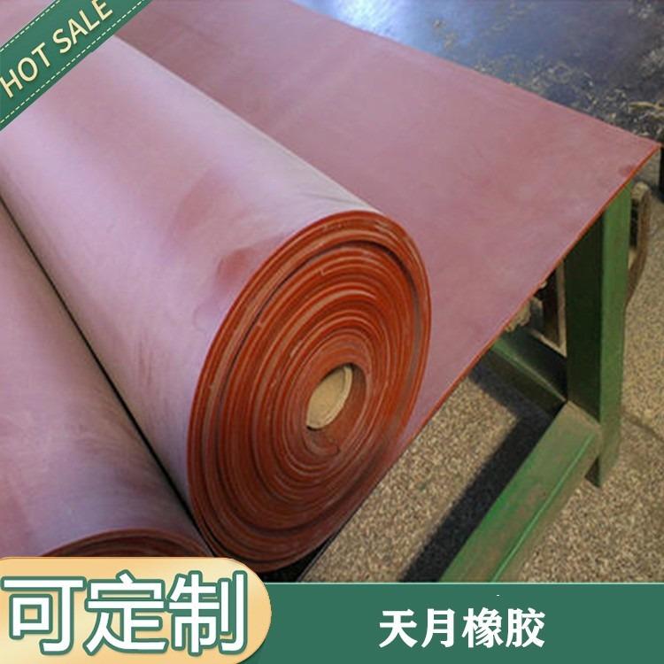 绿色纯 天然橡胶板 耐磨橡胶板价格
