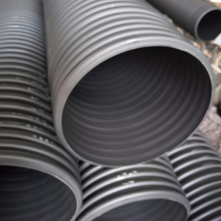 找地埋管道 钢带增强螺旋管 双壁波纹管厂家直销  产品质优价廉全国发货