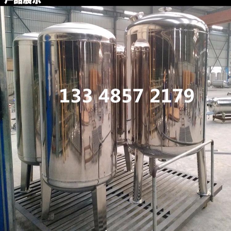 过滤罐砂滤罐机械过滤器多介质304不锈钢过滤石英砂水处理过滤器