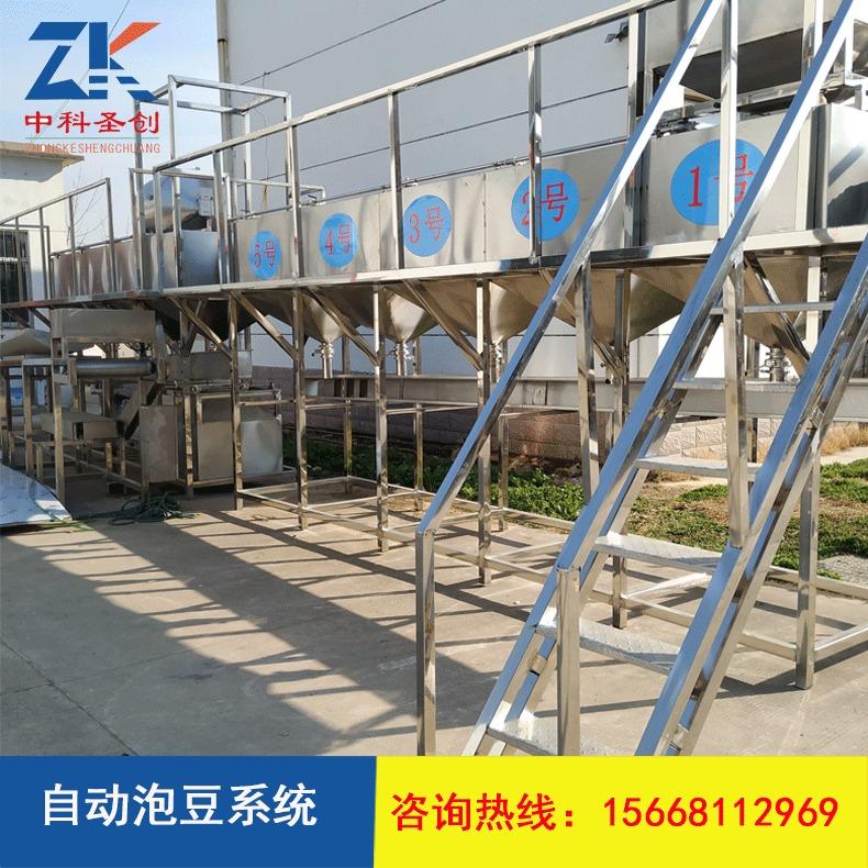 自动泡豆系统_豆制品设备泡豆系统生产线设备_自动泡豆系统厂家