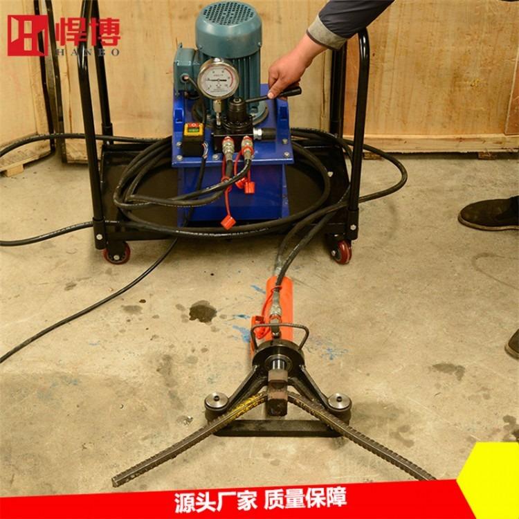 手提钢筋弯曲机 建筑专用钢筋弯曲机  分体式钢筋弯圆机