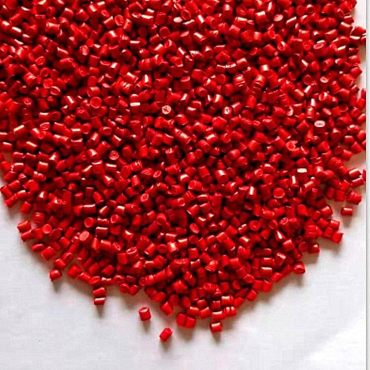红色色母粒 PP注塑红色母粒 大红色母粒