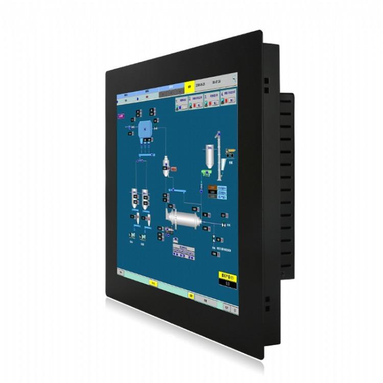 迈誉赫19寸工业触控一体机工控一体机嵌入式触摸屏工业平板电脑I5-4G-64G