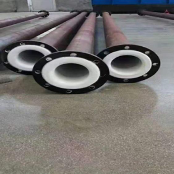 厂家直供钢衬四氟钢管四氟乙烯管件模压四氟弯头内衬四氟乙烯防腐管道价格