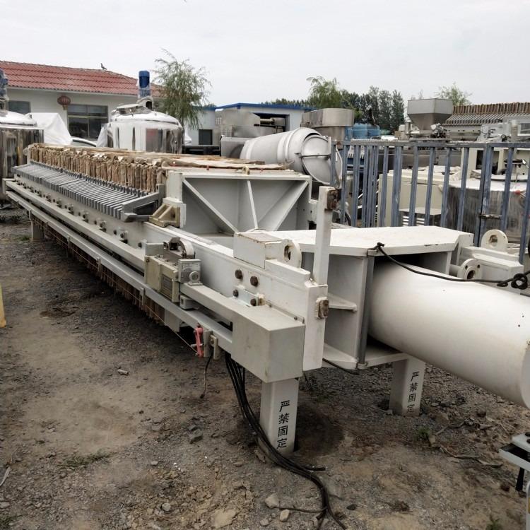 现货出售二手压滤机  二手活性炭过滤器  污水 污泥过滤机械处理设备 二手景津压滤机