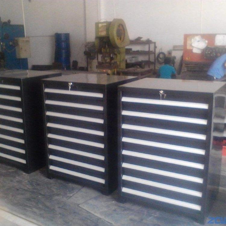 河北车间机床工具储存柜 仓库重型五金工具柜 模房手推式工具柜