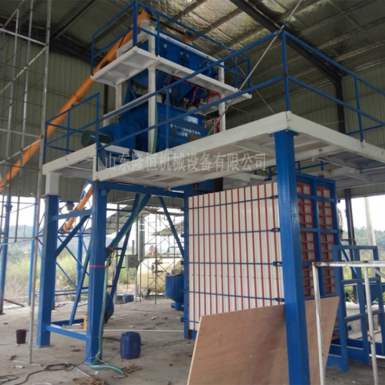 标准型号轻质墙板机械生产厂家隆恒轻质墙板机械高自动化生产基地