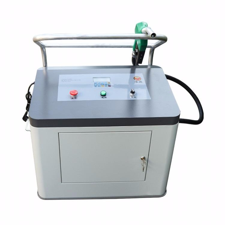准德BJJ-20-AR1D缸筒液压油加注机 24v加油机抽液压油