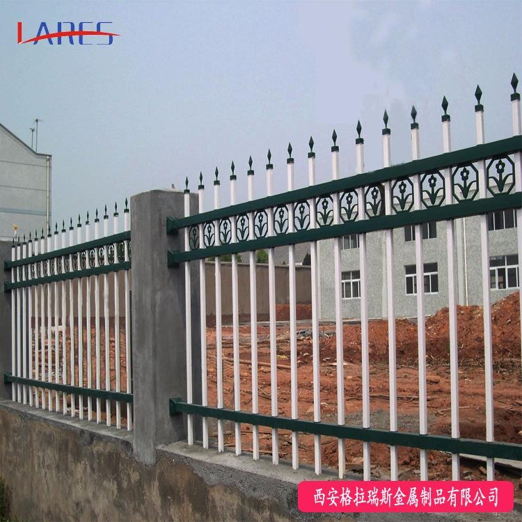 格拉瑞斯围墙护栏厂 定制小区锌钢围墙围栏 别墅庭院铁艺围栏报价