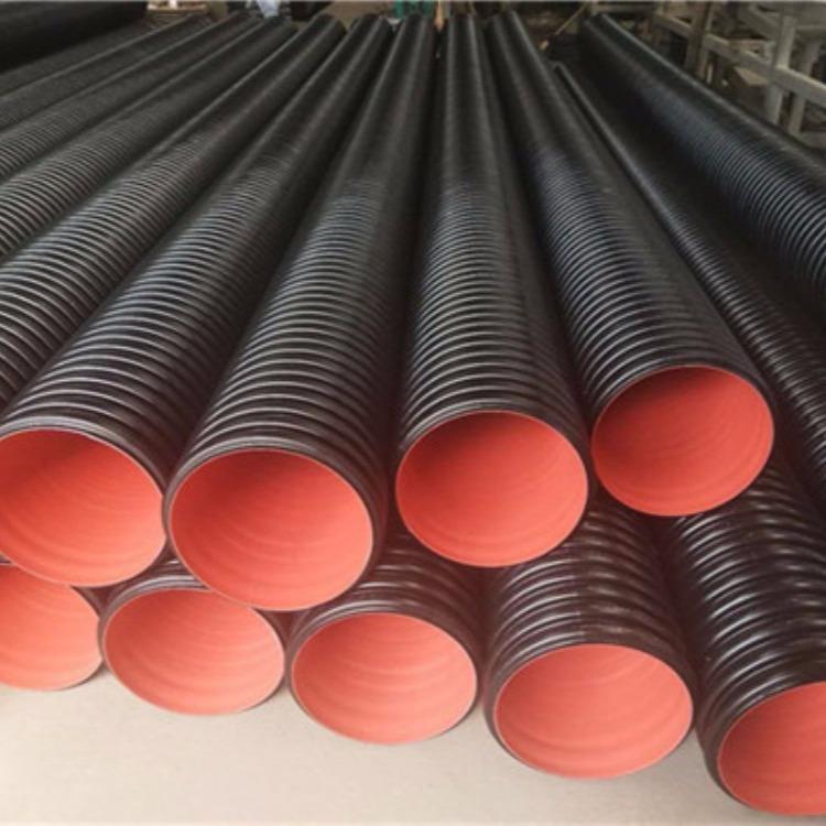供应优质双壁波纹管厂家 欣腾达牌排水排污管道 厂家型号齐全质优价廉