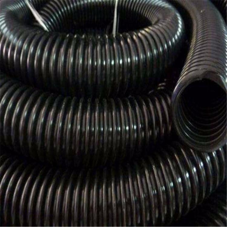 厂家直销 HDPE双壁波纹管DN160塑料波纹管双壁波纹管联系电话