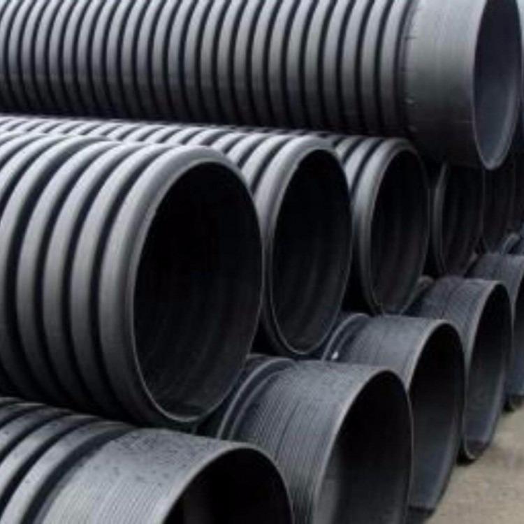 河北邢台DN600双壁波纹管 PE波纹管排污管 农村改造专用排污水管材质优价廉