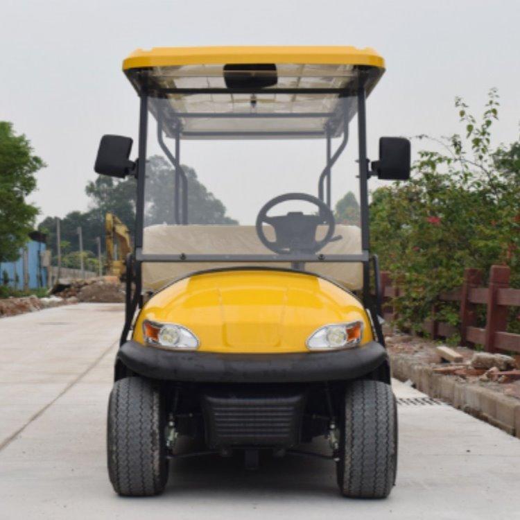 鸿畅达厂家直销十一座电动高尔夫球车 电动车价格 电动观光车牌子