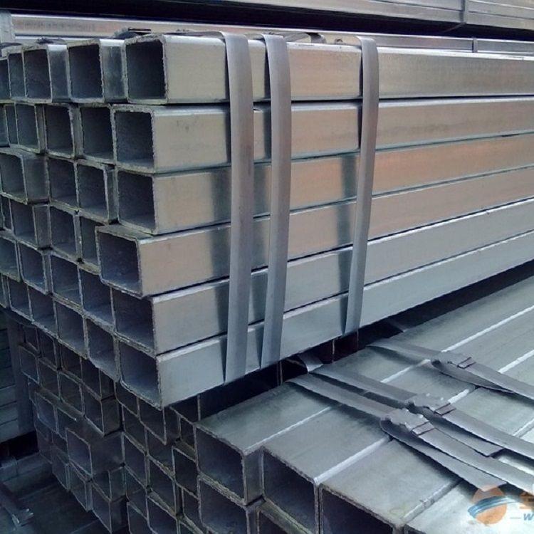 热镀锌方管厂家 德正特钢 Q235方管 国标镀锌方管 优质供应商