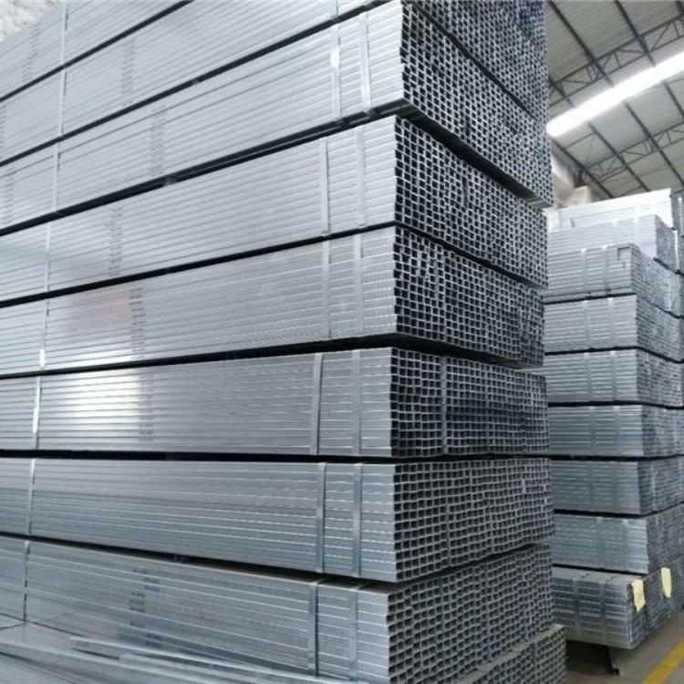 热镀锌方管现货 批发各种厚度型号热镀锌方管 q235b方管厂家直销 量大优惠