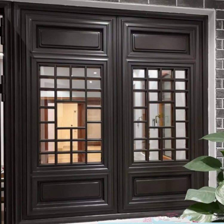 金属中式仿古门窗 中式仿古门窗五金配件 中式仿古门窗石家庄
