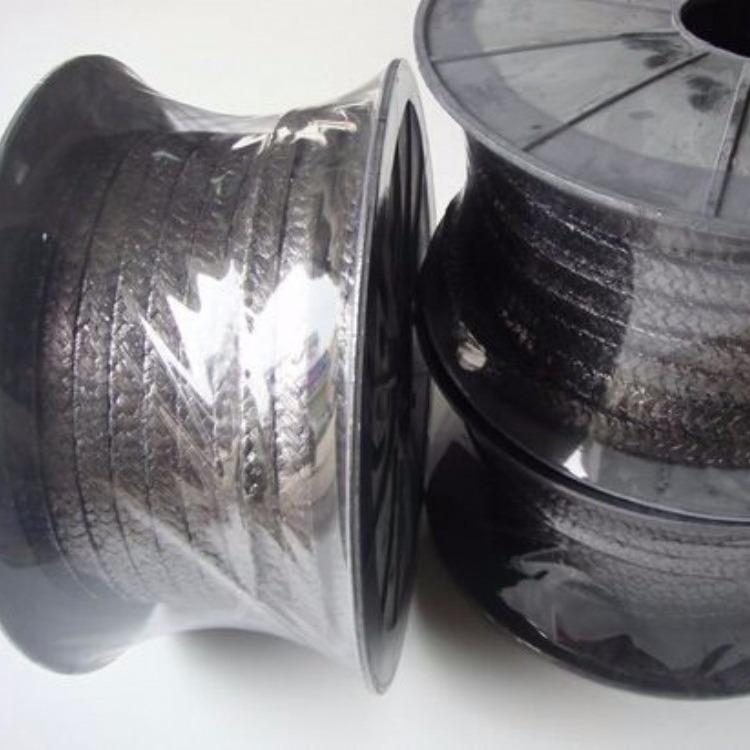 厂家直销优质石墨盘根 柔性石墨盘根 高温高压膨胀石墨盘根 10*10石墨盘根价格