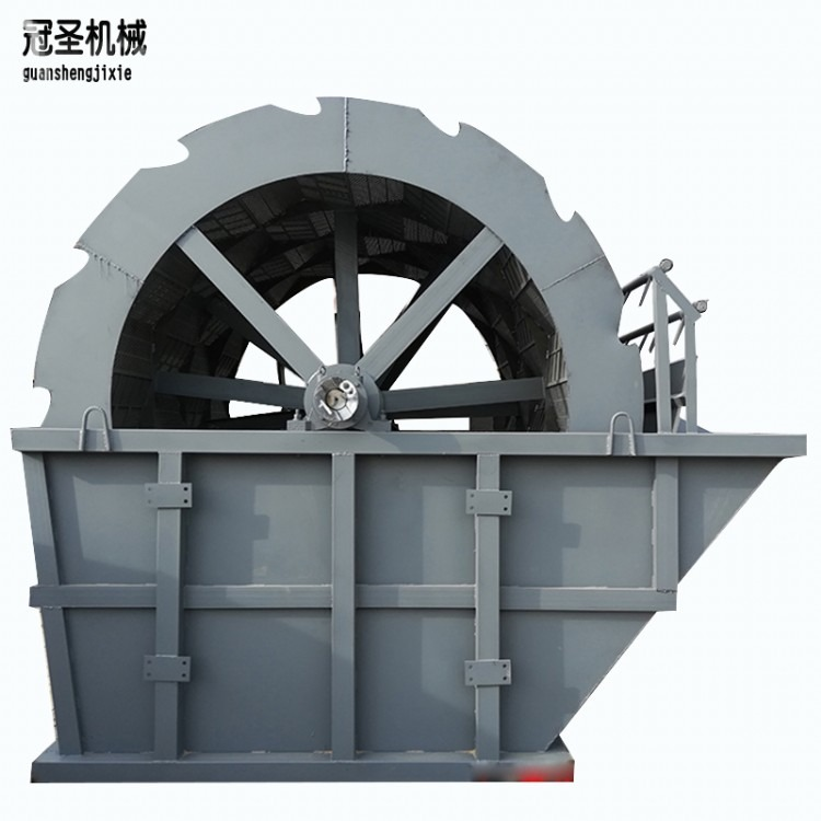 运行稳定洗砂机小型洗砂机滚筒洗砂机洗选效率高