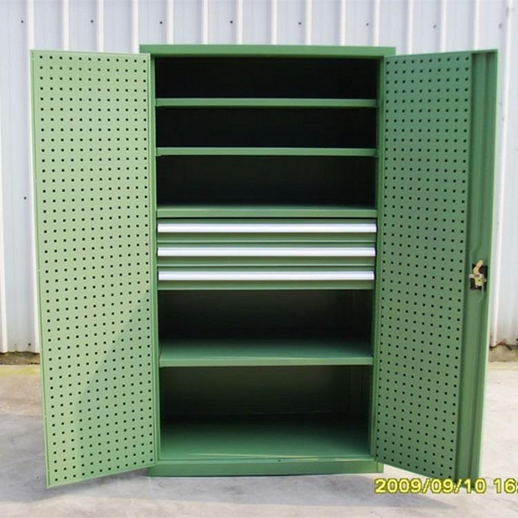 重型工具柜车间储物柜五金配件柜多功能金属柜零件存放柜铁皮柜