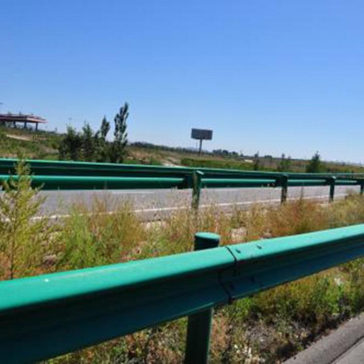 三波波形护栏厂家盘山高速公路防撞波形护栏喷塑热镀锌波形护栏板