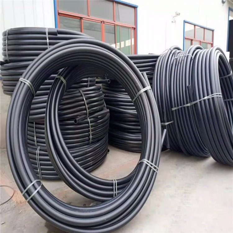 自产自销供应高压PE给水管 DN200口径 耐压耐磨耐老化现货供应质优价廉