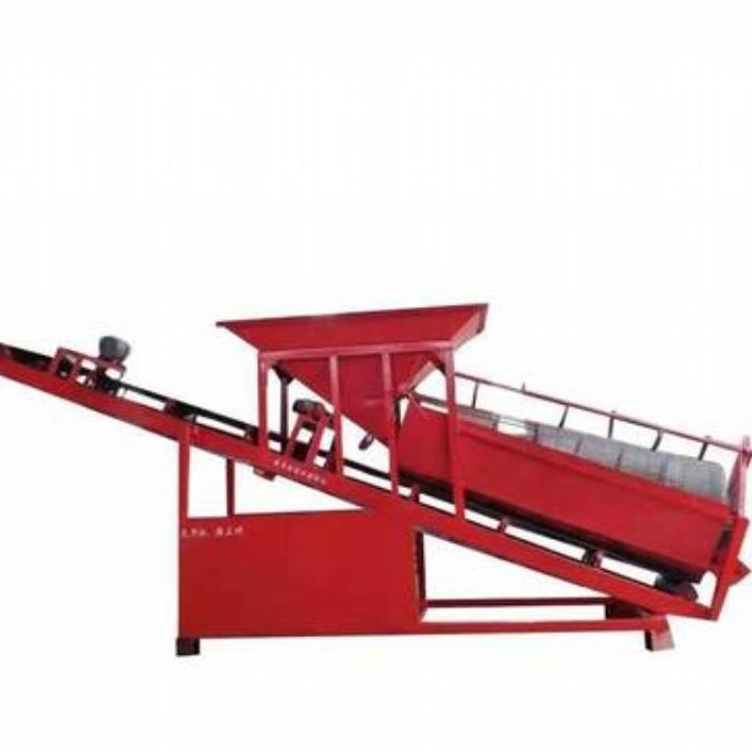 大理20型物料适应性广效率高滚筒筛沙机