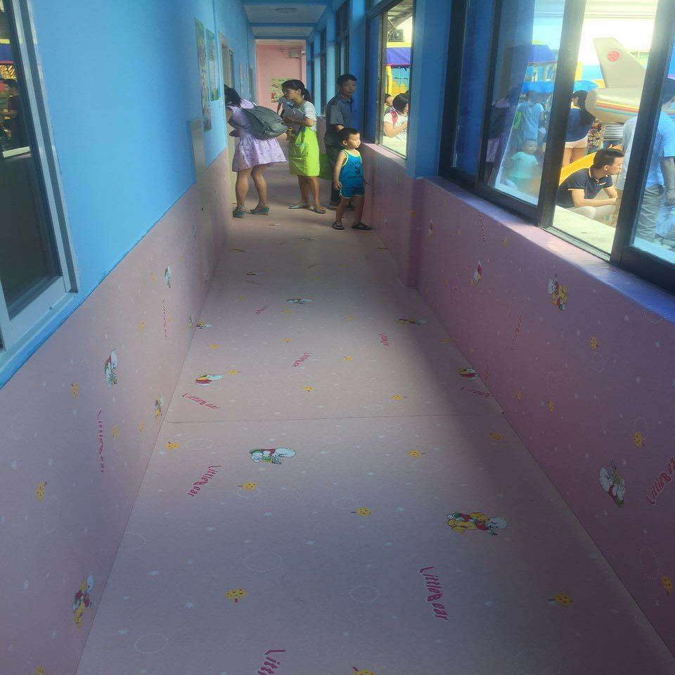 邵阳市城步幼儿园地板胶Pvc,幼儿园跑道铺设价格