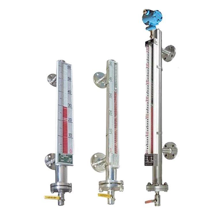 宏程厂家直销定制带远传型磁翻板液位计 磁性浮子翻柱液位计
