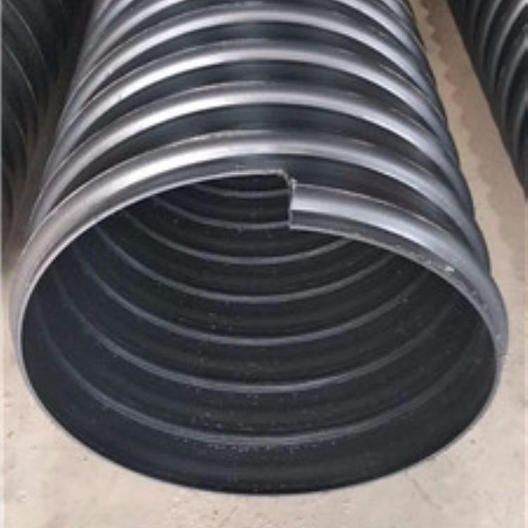长期供应双壁波纹管 DN300高密度聚乙烯排水管道 大口雨水排水管质优价廉全国发...