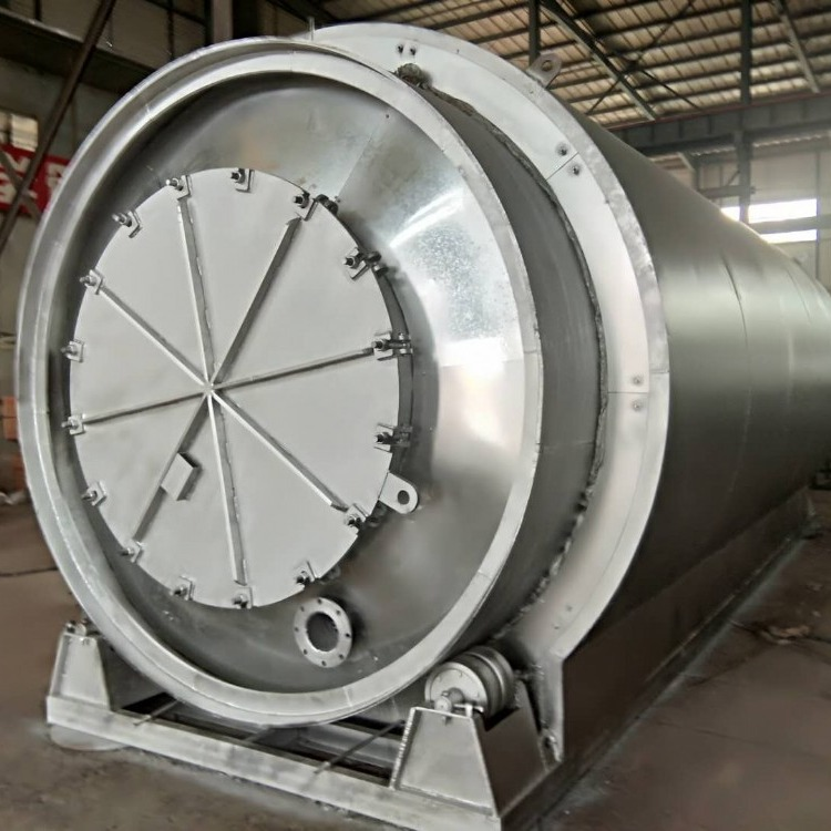 亚科yk系列废轮胎炼油设备 废机油蒸馏设备安全环保