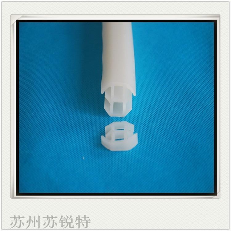 无色t型透明密封条高透明硬质PVC密封条PVC透明密封胶条