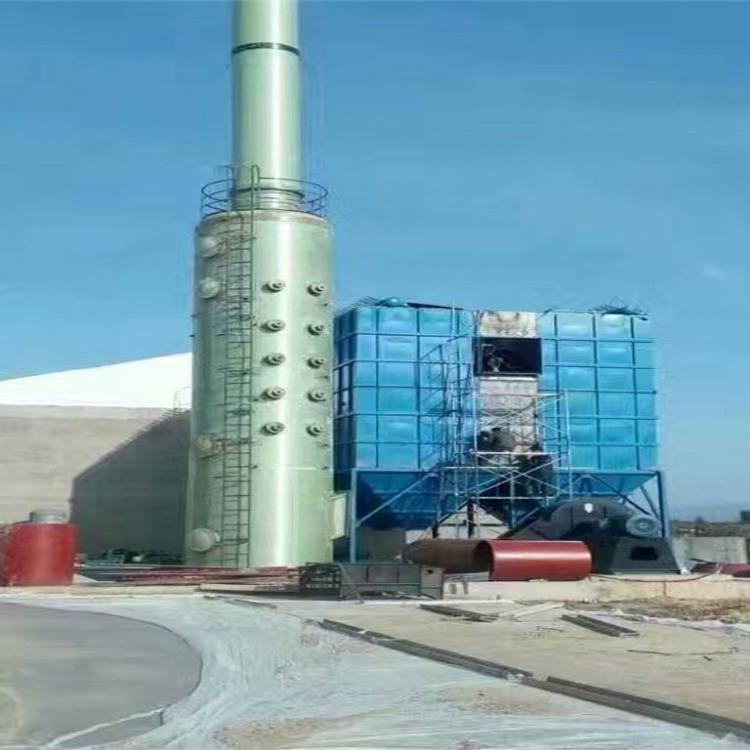 河北华强专业生产脱硫塔 电厂脱硫塔 烟囱脱硫塔 脱硫除尘塔 脱硫吸收塔规格齐全