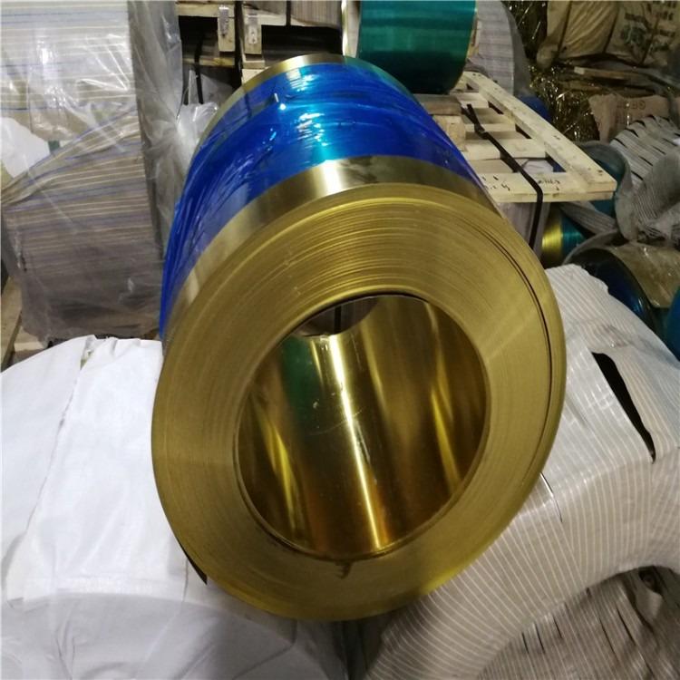 国标H62黄铜带     H65黄铜箔0.01-0.08mm