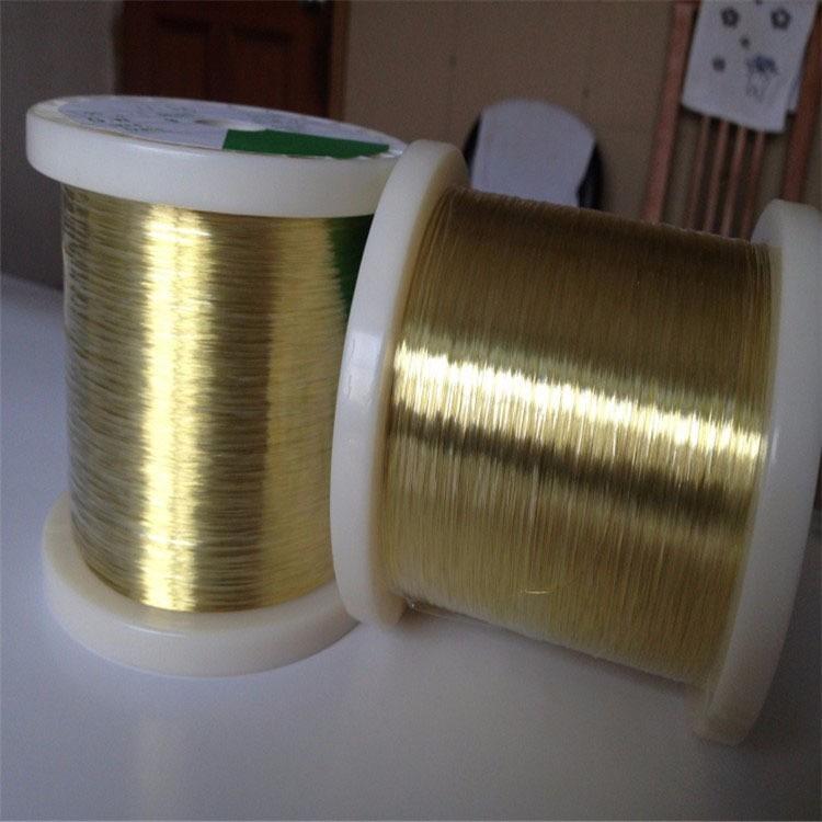 H65黄铜螺丝线   0.5mm环保轴装H62黄铜线