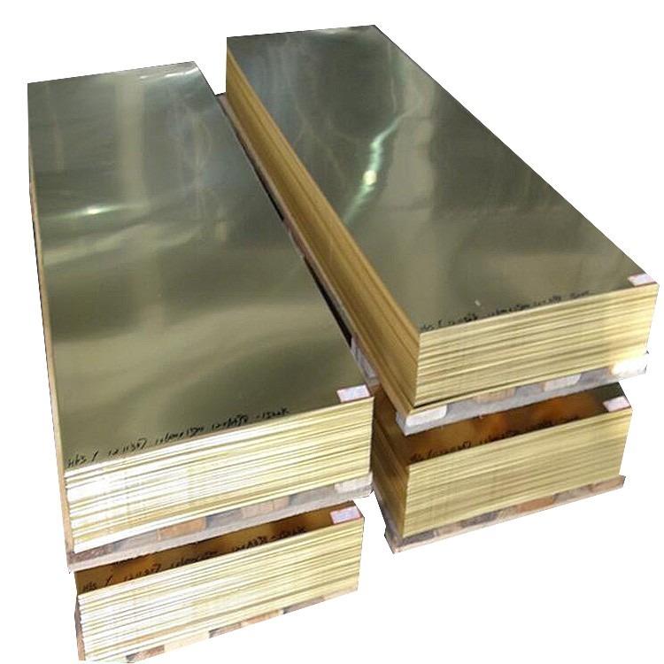 锯床切割H62黄铜板    冲压H59黄铜板