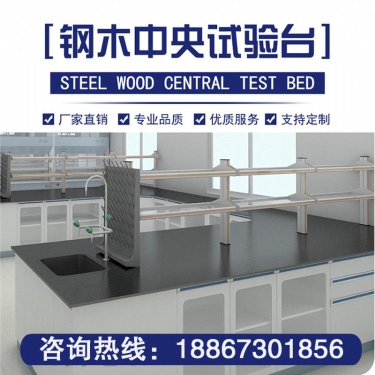 内蒙古实验台,厂家实验室防静电工作台,钢木全钢实验台,家具防腐蚀台面