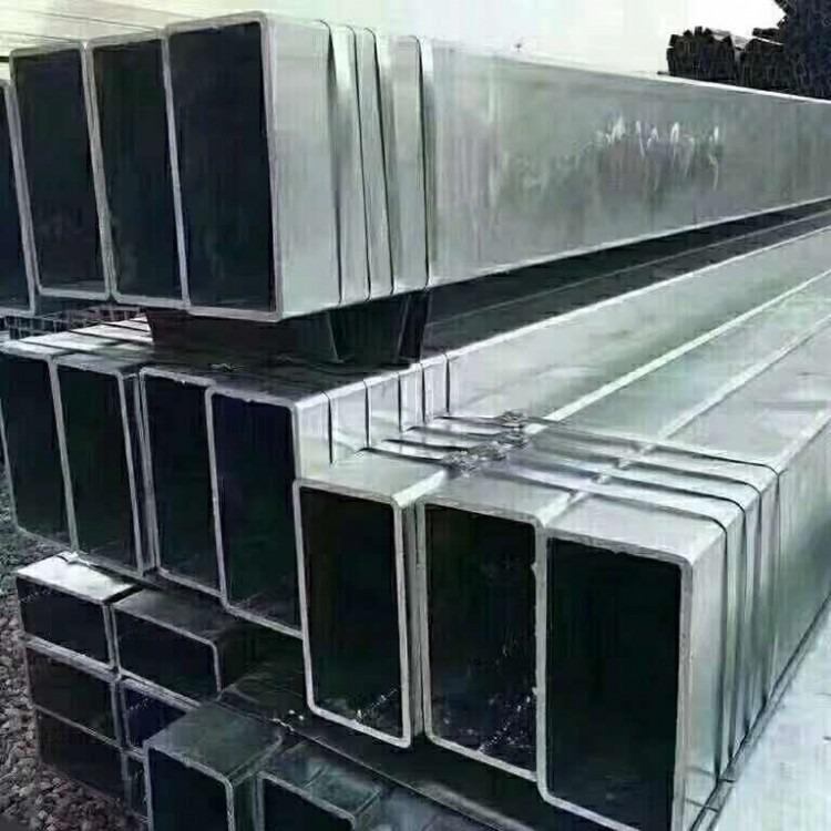 德正特钢 热镀锌方管 国标镀锌方管 高频焊方管 直缝焊管 现货库存