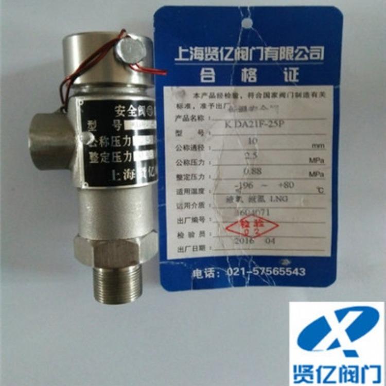 DAH-25低温全启式安全阀