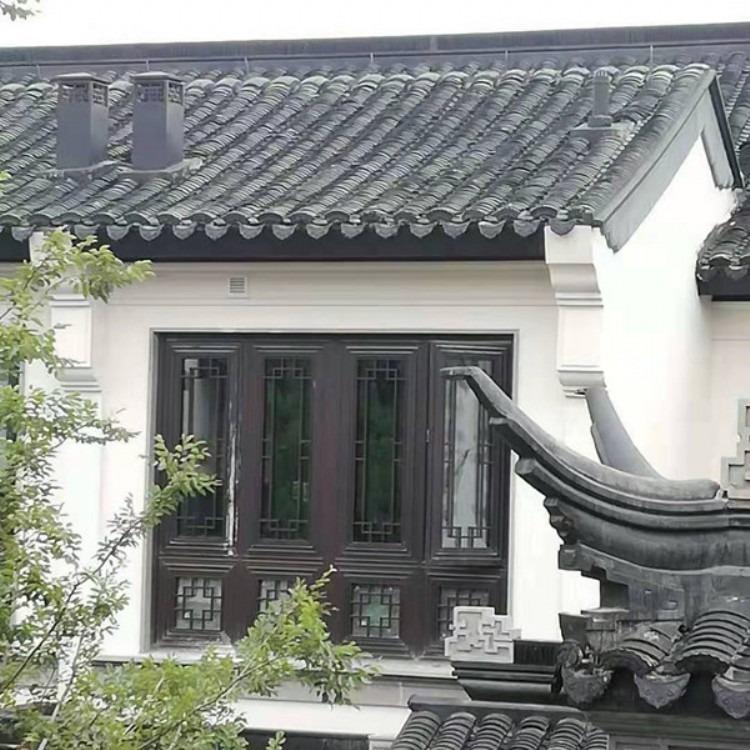 农村平房仿古门窗 农村中式房门窗 农村堂屋仿古门窗