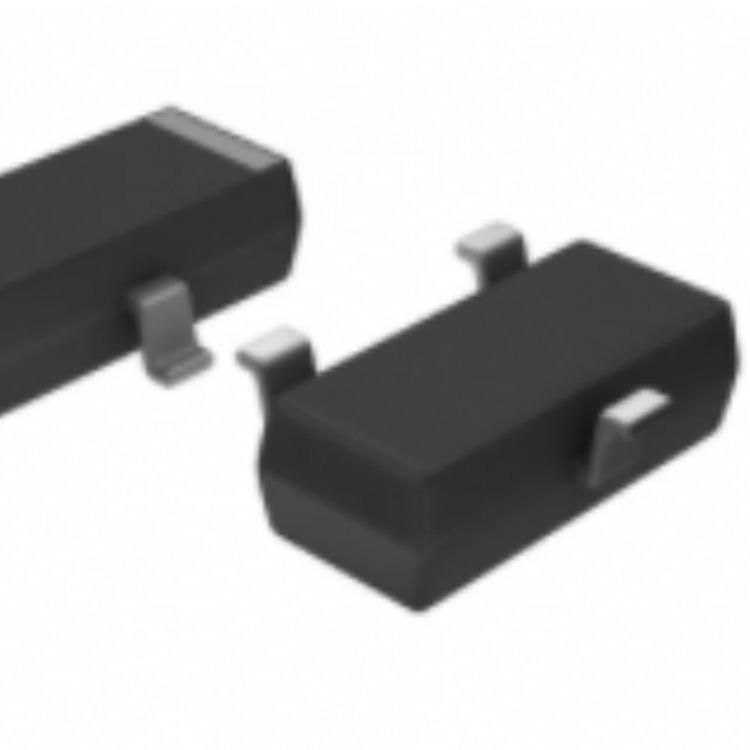 Diodes双极晶体管 - 双极结型晶体管(BJT)BC847BW-7-F  SOT-323