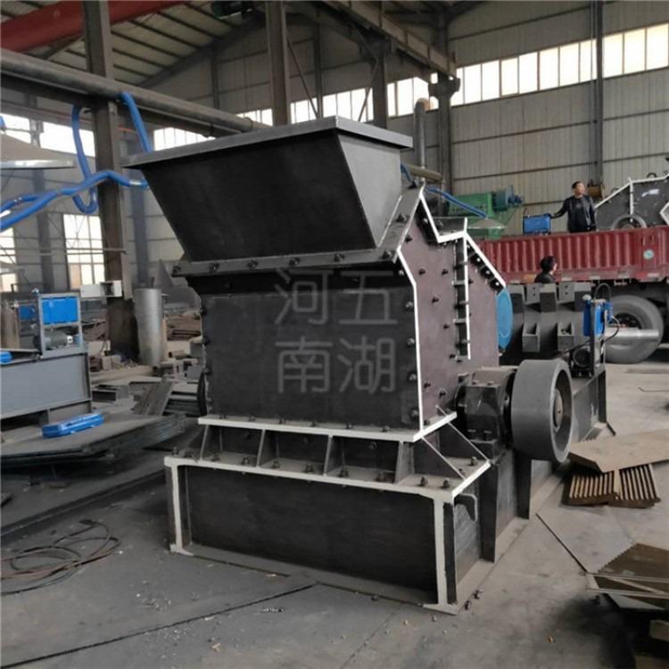 供应铝矾土制砂细碎机 混凝土粉碎机 水泥废料液压开箱细碎机