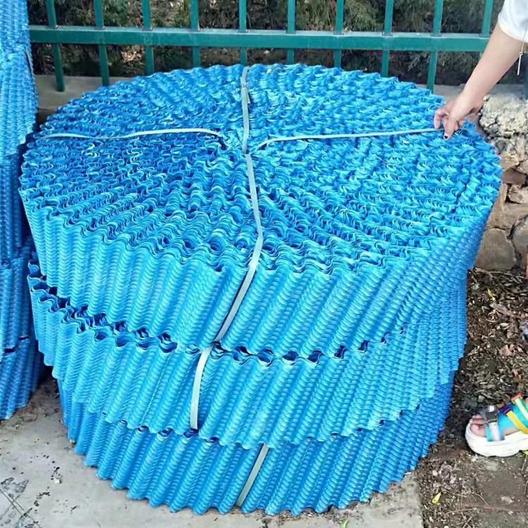 厂家直销 冷却塔高温填料 pVC填料 聚丙烯斜交错填料