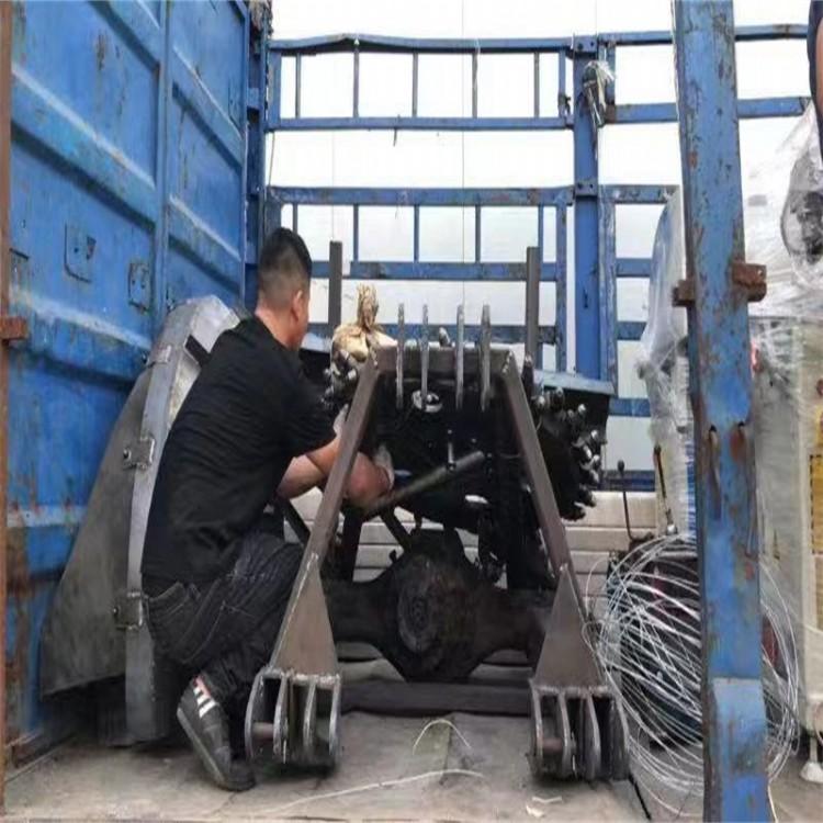 白城拖拉机挖坑机视频 拖拉机带打坑机的型号和价格生产厂家