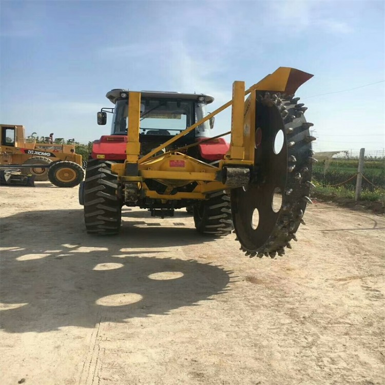 随州拖拉机配套开沟机厂家 小型打沟机微耕机带动价格