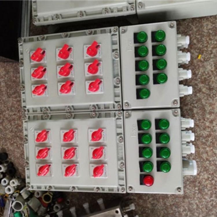 油泵电动阀防爆动力配电箱 油泵罐区防爆动力配电箱