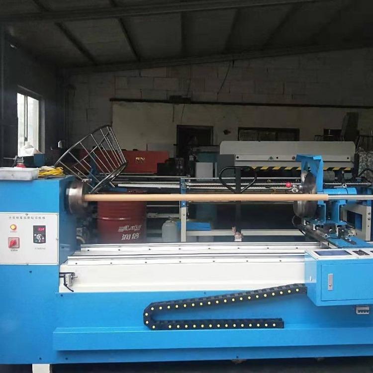 全自动分条机切条机捆条机自动对边  打卷机斜纹对缝机 裁边机